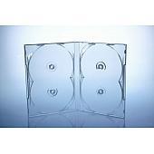 Scanavo Overlap DVD Box 4One - 14mm  - transparent