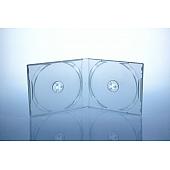 Playstation CD Box - unzerbrechlich  - für 2 CD's - transparent