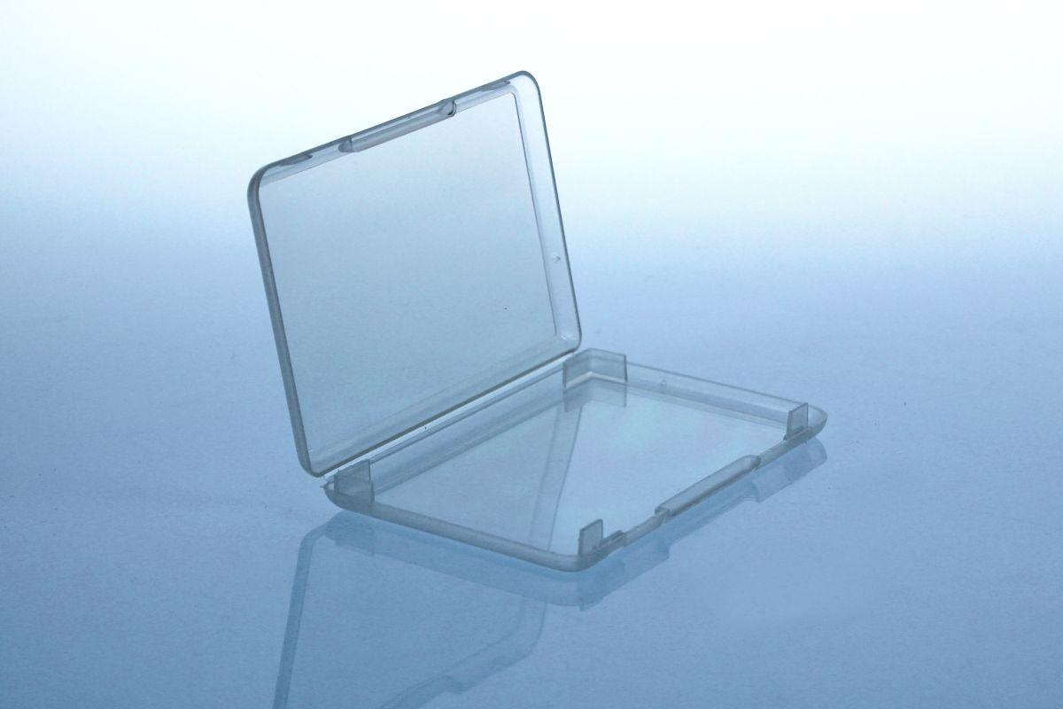 PP Box unzerbrechlich - für 1 Businesscard - transparent