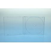 CD Tray 1-fach für Jewelbox - transparent - bulkware