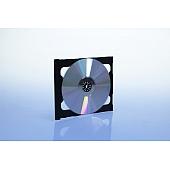 CD Smarttray 2-fach - ohne Logo - schwarz - kartoniert