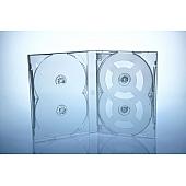Scanavo Overlap DVD Box 6One - 21mm  - transparent