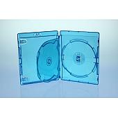 AMARAY BluRay Twintray für 2 Discs - blau