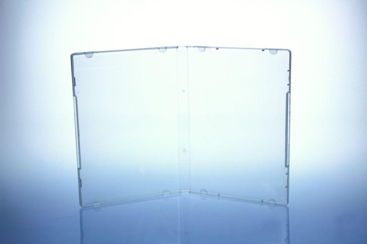 Multimediastoragebox - 14 mm - transparent