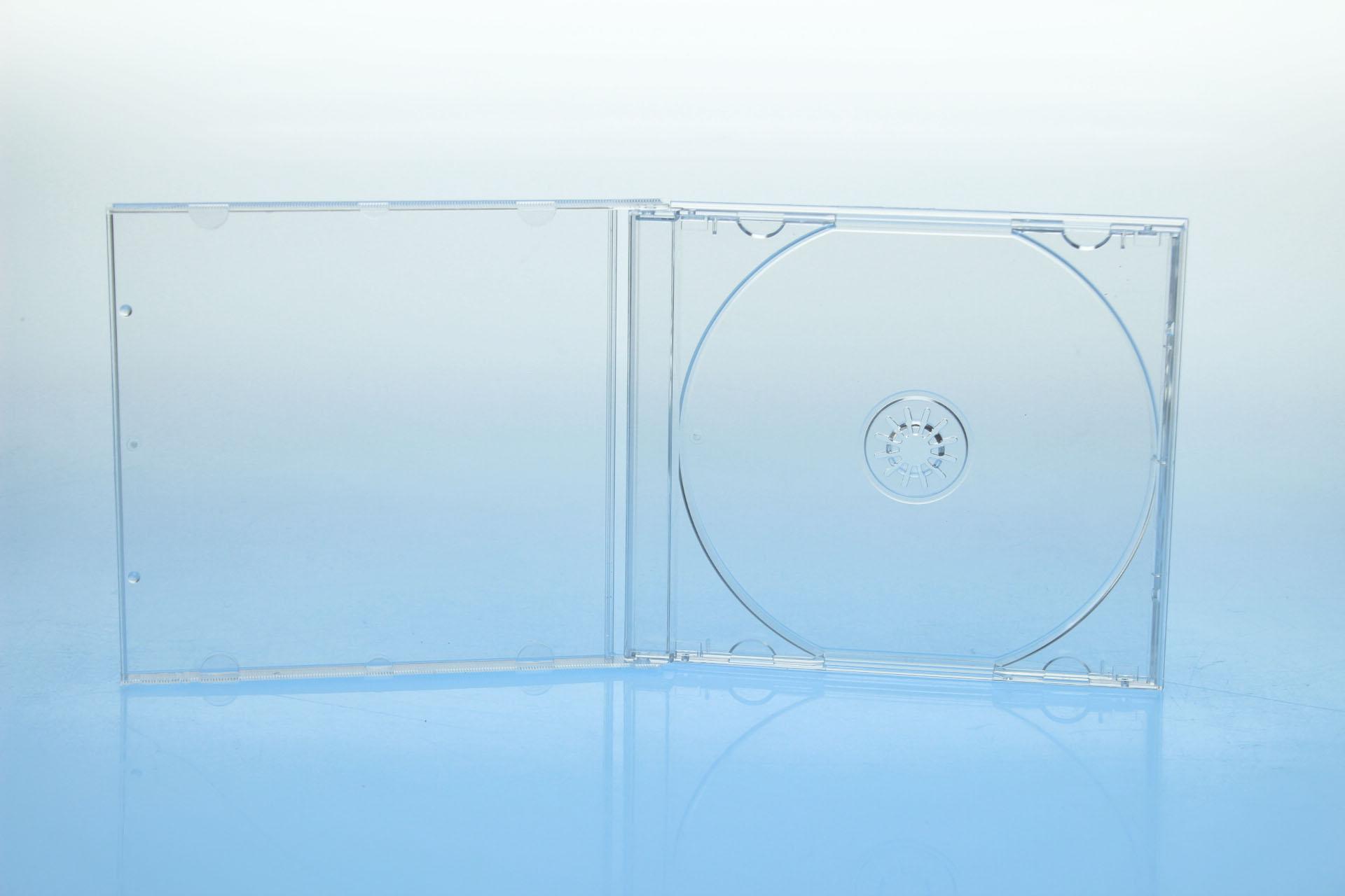 CD Jewelcase - unmontiert - kartoniert