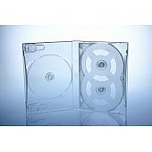 Scanavo Overlap DVD Box 5One - 21mm  - transparent - bulkware