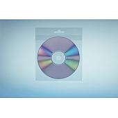 Klarsichttasche für 1 Disc - mit integrierter Eurolochaufhängung