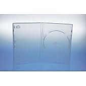 FLEX DVD Box 3-fach - 14mm - transparent - bulkware