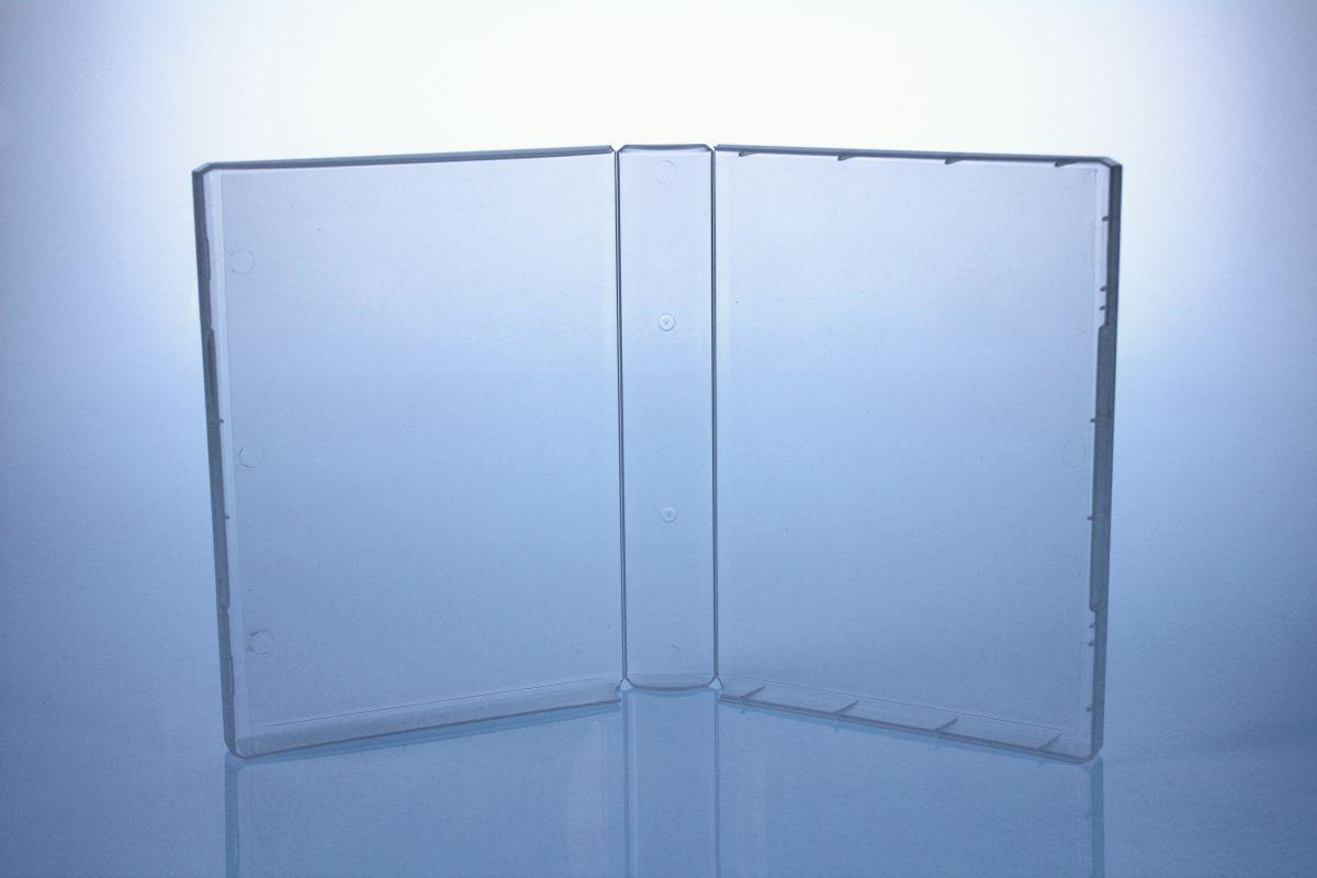 Multimediastoragebox Xtra - 40 mm - transparent